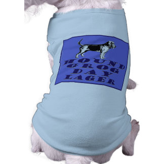 Hound Grog Day Blue Lager Sleeveless Dog Shirt