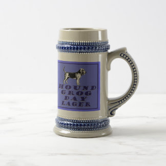 Hound Grog Day Blue Lager Fully Customizable Beer Beer Steins