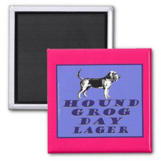 Hound Grog Day Blue Lager Magnets