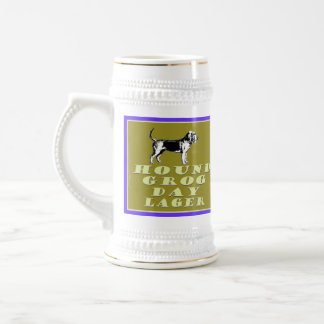Hound Grog Day Gold Lager Fully Customizable Beer Beer Steins