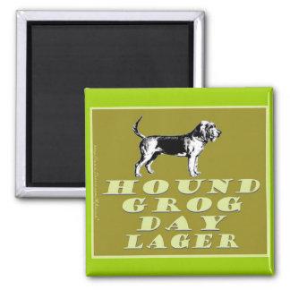 Hound Grog Day Gold Lager Magnets