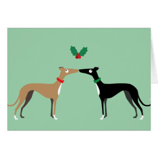 Hound kiss card