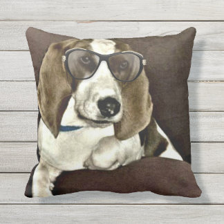 hound pillow throw cushions