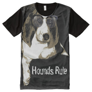 Hounds rule Tshirt All-Over Print T-Shirt