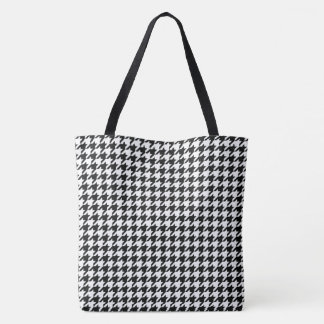 Hounds tooth Pattern Tote Bag