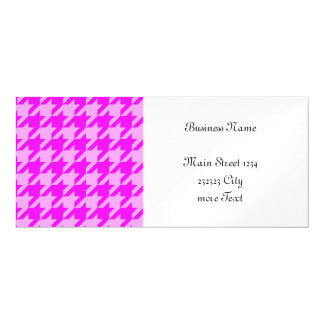 houndstooth 2 pink (I) Magnetic Invitations