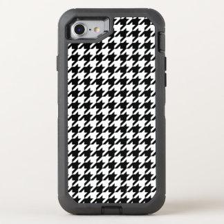 Houndstooth check pattern design background OtterBox defender iPhone 8/7 case