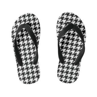 Houndstooth - Customize Background Color Flip Flops