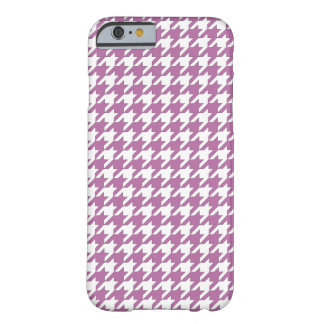 Houndstooth design in bodacious and white barely there iPhone 6 case