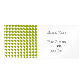 houndstooth green (I) Magnetic Invitations