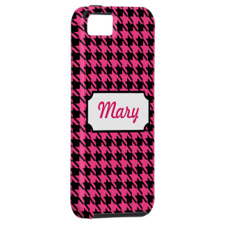 Houndstooth iPhone 5 Case Mate Tough
