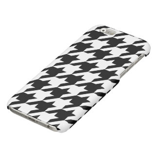 Houndstooth iPhone 6/6s Glossy Finish Case iPhone 6 Plus Case