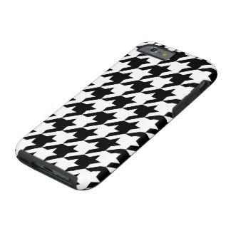Houndstooth iPhone 6/6s, Tough Phone Case