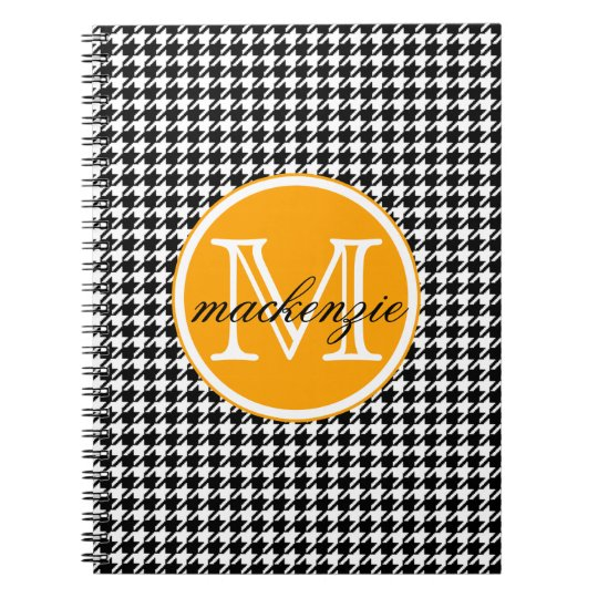 Houndstooth Notebooks