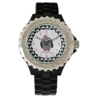 Houndstooth Owl Watch