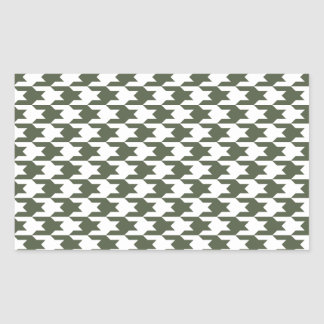 Houndstooth Pattern 1 Cypress Stickers