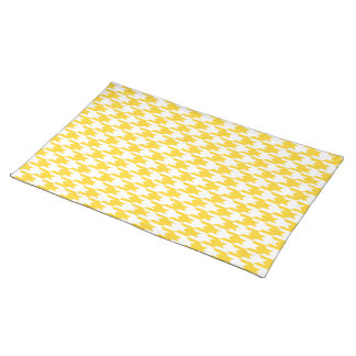 Houndstooth Pattern 1 Freesia Place Mat
