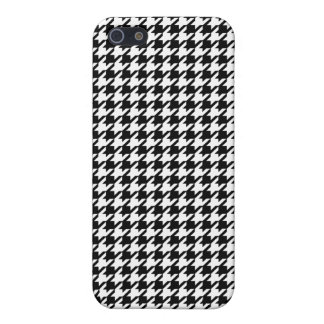Houndstooth pattern - Black and white Case For iPhone 5/5S