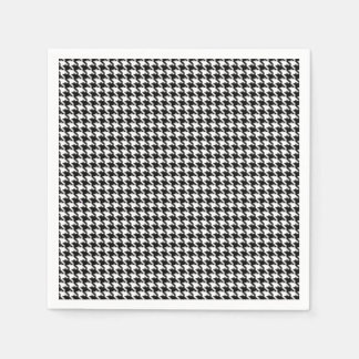 Houndstooth Pattern Disposable Napkin