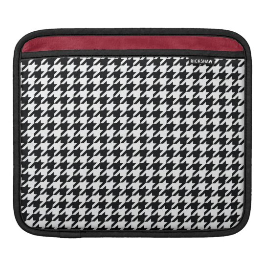 Houndstooth Pattern iPad Sleeve