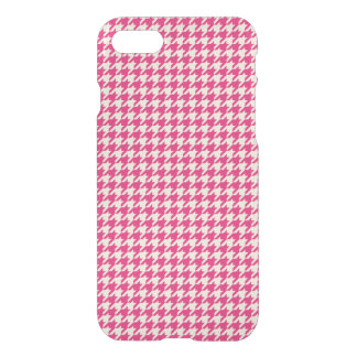 Houndstooth Pink iPhone 7 Case