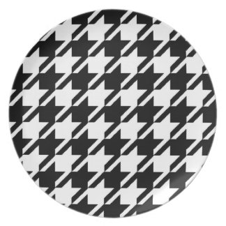 Houndstooth Plate