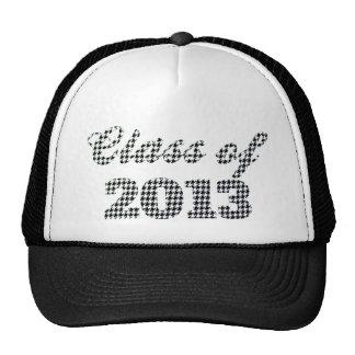 Houndstooth Print Class of 2013 Cap