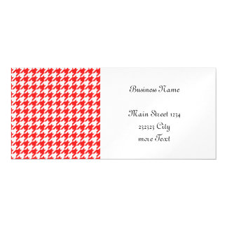 houndstooth red (I) Magnetic Invitations