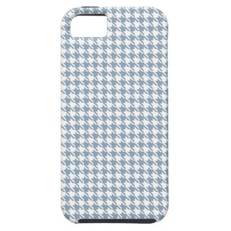 Houndstooth Slate and White iPhone 5 Case