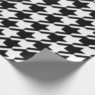 Houndstooth Wrapping Paper