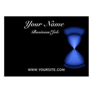 Hourglass Large Business Cards (Pack Of 100)