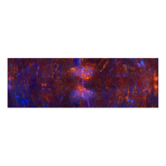 """Hourglass Cave"" Fractal Art Pack Of Skinny Business Cards"