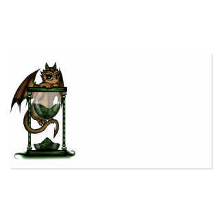 Hourglass Dragon Pack Of Standard Business Cards
