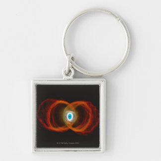 Hourglass Nebula Key Ring