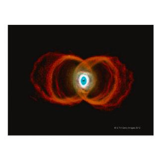 Hourglass Nebula Post Card