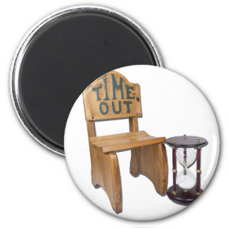 HourGlassNextTimeOutChair090312 png Fridge Magnets