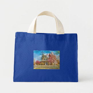House - A Victorian Springtime Mini Tote Bag