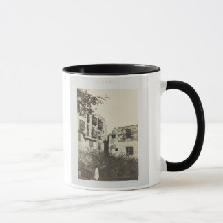 House and garden in the French Quarter, Egypt, 185 Mug