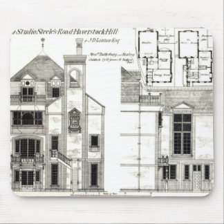 House and Studio, Steele's Road, Haverstock Mouse Mat