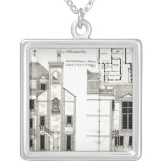 House and Studio, Steele's Road, Haverstock Silver Plated Necklace