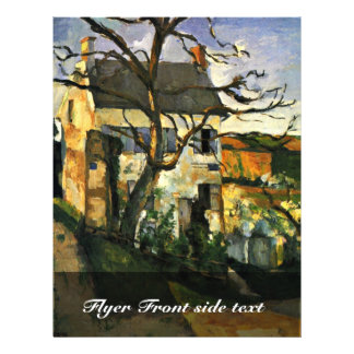 House And Tree By Paul Cézanne (Best Quality) Flyer Design