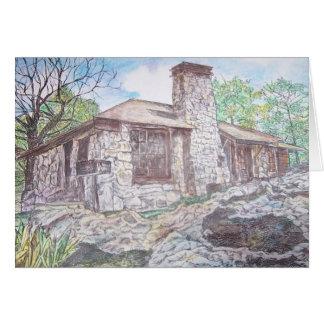 house at Mt. Nebo, Arkansas Card