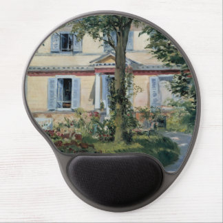 House at Rueil by Edouard Manet Gel Mousepad