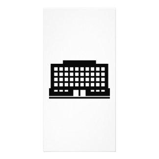 House building photo card