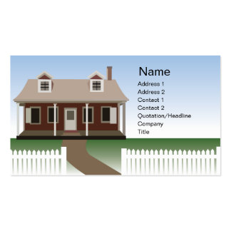House - Business Business Cards