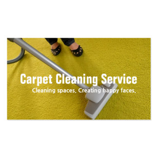 House Carpet Rugs Cleaning Housekeeper Maid Pack Of Standard Business Cards