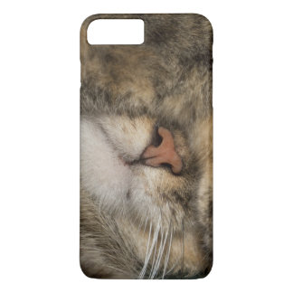 House cat covering eyes while sleeping iPhone 8 plus/7 plus case