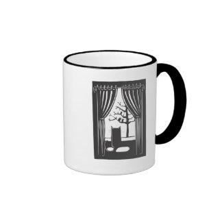 House Cat Ringer Mug