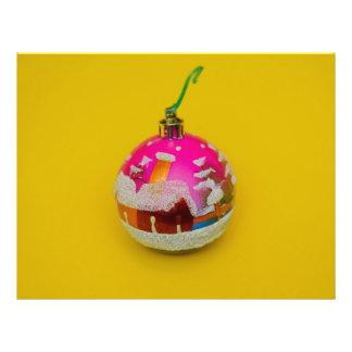House Christmas bauble 21.5 Cm X 28 Cm Flyer