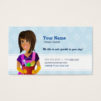 House Cleaner Business Cards
